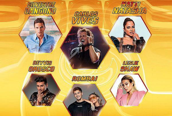 Juntos en Concierto XI - Carlos Vives, Natti Natasha y Mas