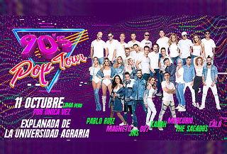 ¡90s Pop Tour! Mercurio, Magneto, The Sacados, OV7 y Más