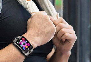 Smart Watch Q18 Silver
