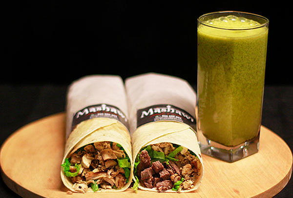 ¡Shawarma Mixto y Buffalo + Maracuyá Luisa! VUELA YA