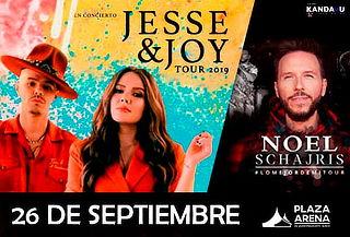 Jesse & Joy junto a Noel Schajris - VIP o PLATINUM