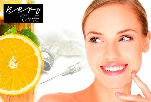 Aplicación de Vitamina C Endovenosa + Limpieza Facial y más
