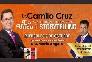 ENTRADA VIP a Conferencia con Dr. Camilo Cruz