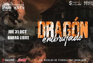 """Fiesta Halloween """"Dragón Embrujado"""" Barra Libre en Barranco"""