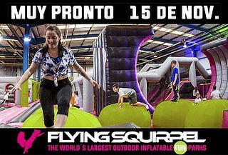 FLYING SQUIRREL: el parque inflable más grande de Sudamérica