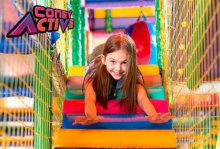¡2 Horas de Juegos + PopCorn + Inca Kola! en CONEY ACTIVE