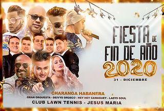 Fiesta de Fin de Año 2020 - La Charanga, Davis Orosco y Más