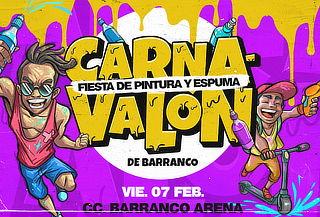¡CARNAVALÓN 2020 Fiesta de Pintura y espuma! - 7 de Febrero