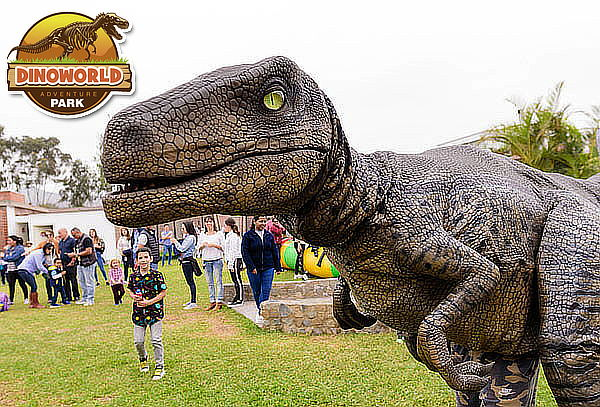 ¡Full Diversión! Full Day en Dinoworld + All You Can Eat