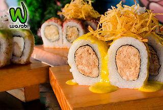 Barra Libre Makis + Salteados + Postres + Bebidas en Wasabi