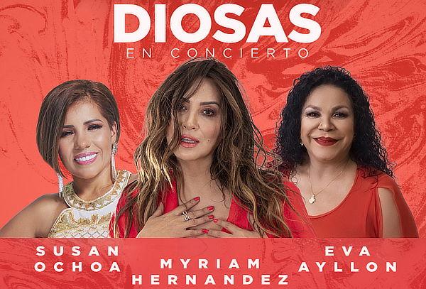 ¡Diosas en concierto! Myriam Hernadez, Eva Ayllón y más