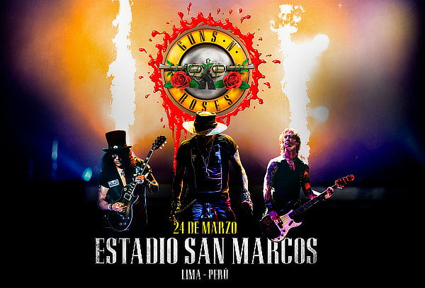 "¡GUNS N' ROSES en Concierto!  - Gira ""Not In This Lifetime"