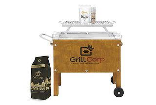 GrillCorp - Caja China Chica Premium+ Parrilla y Más