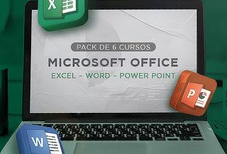 Pack de 06 cursos de Microsoft Office en Netzun.com