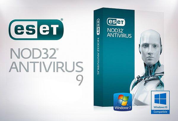 ¡Protección Total! Antivirus 9 Eset Nod32 por 1 año