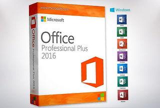 ¡Paquete Completo! Microsoft Office 2016 PRO por 1 año