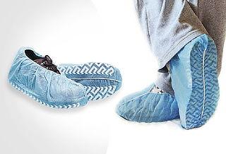 Cubre Zapatos CON ANTIDESLIZANTE Caja x 100 ¡Cuida tu Salud!