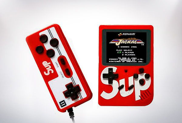 Consola Retro SUP Con 400 Juegos Integrados y Gamepad