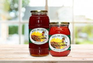 ¡Dulce protección! Miel de abeja La Reyna de Oxapampa