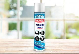 ¡Limpia y Desinfecta! Alcohol Isopropilico en Spray de 500 m