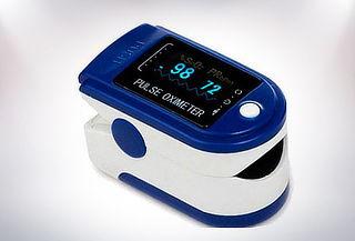 Pulsioxímetro medidor de oxigeno cardíaco Delivery incluido