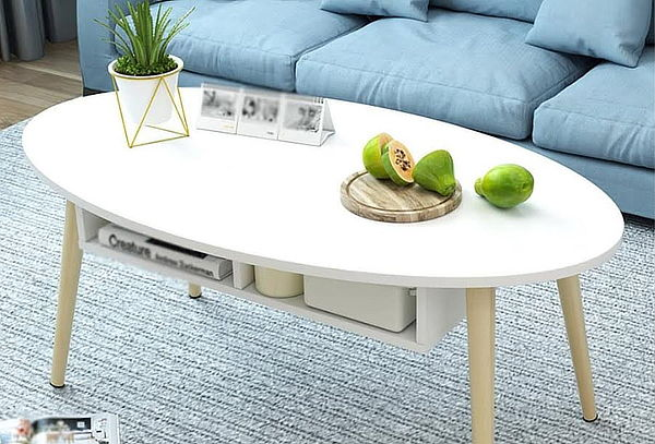 Mueble Mesa De Centro Size blanco