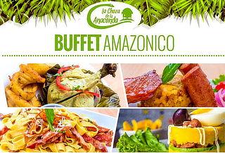 Buffet Amazónico - Criollo en La Choza de la Anaconda