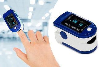 Pulsioxímetro Medidor de Oxígeno Cardíaco - INCLUYE DELIVERY