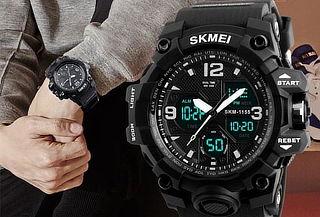 Reloj SKMEI 1155B Analógico y Digital (Anti golpes)