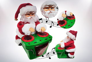 Papa Noel Trineo Musical Movible A Pilas ¡Navidad!