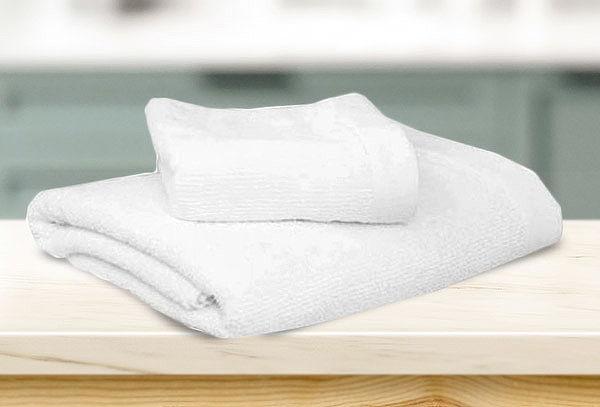 ¡Pack x2! Toallas de Felpa Algodón(2 pzas) Color Blanco