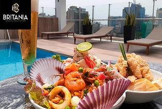 Ronda Marina a Elección + Bebidas en Hotel Britania Crystall