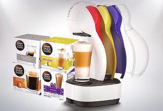 Cafetera Nescafé Dolce Gusto + 4 Cajas de Capsulas