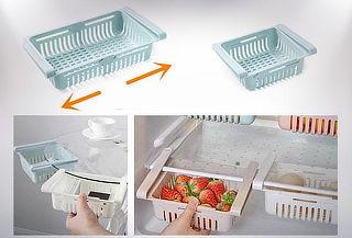Cajón extensible Organizadores de Refrigerador