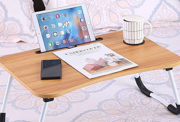 Mesa plegable portátil para Laptop y Tablet en Colores