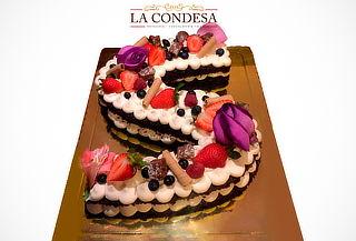Torta de Letras con La condesa