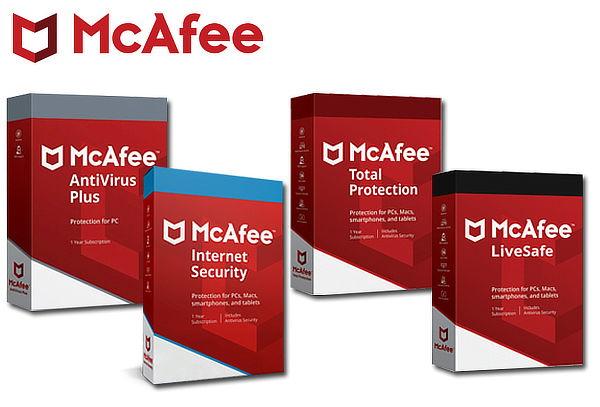 Licencia digital de antivirus McAfee para 1,3,5 ó 10 Equipos