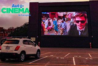 2 Entradas con opción a combo en  Autocinema Cineviajeros