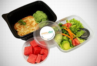 ¡Empieza Ahora! Almuerzos Saludables por 1 Mes - Menu Diet