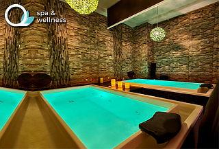 ¡SPA DE LUJO! Masaje + aceites + Sauna en Q Spa & Wellness