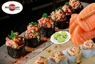 Barra Libre de Makis + Bebida Elige Sabores en Akita Sushi