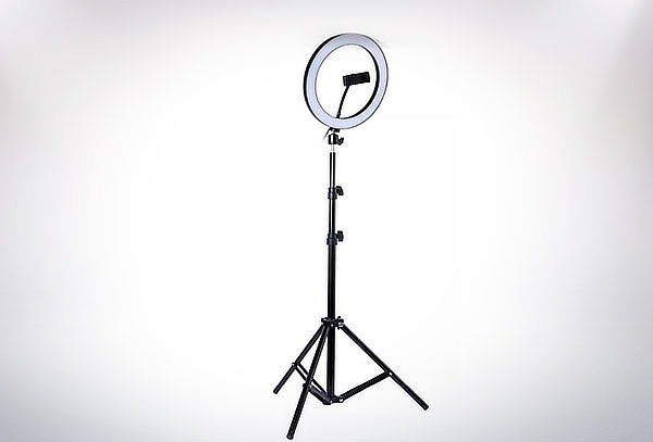 ¡Kit de Aro de Luz + trípode! Aro LED 26 Cm + Trípode 1.60