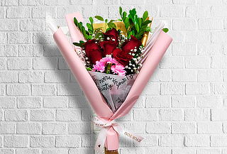 ¡Sorpréndela! Ramo de 6 o 9 Rosas  - Isaflor