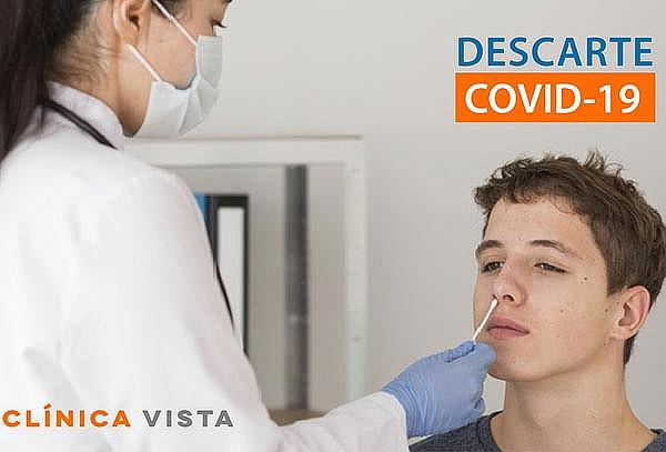 Prueba de Antígeno por Hisopado para Descarte COVID-19