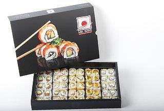 ¡50 Cortes! Pack Familiar Super Maki Box