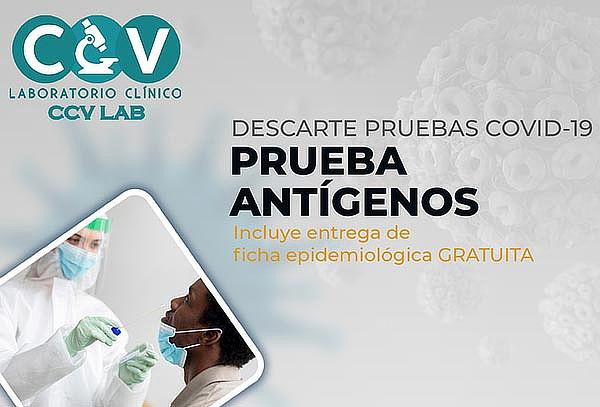 Prueba de Antígeno por Hisopado, para Descarte COVID-19