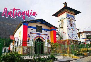 ¡Full day a Antioquía, Las casas de mil colores!