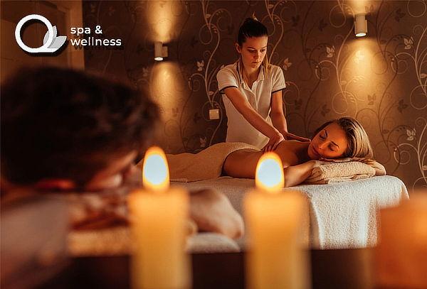 Spa para 02 + Sauna a Vapor ó Hidromasaje