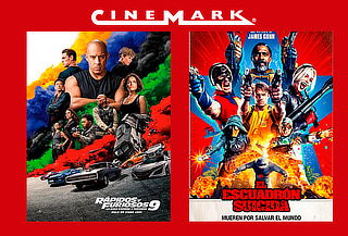 ¡Volvió Cinemark! Entrada 2D de Lunes a Domingo