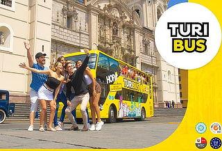 City Tour PANORÁMICO Guiado al Centro Histórico con TURIBUS